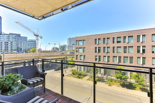 For Sale: 338 - 47 Lower River Street, Toronto, ON | 1 Bed, 1 Bath Condo for $399,900. See 19 photos!