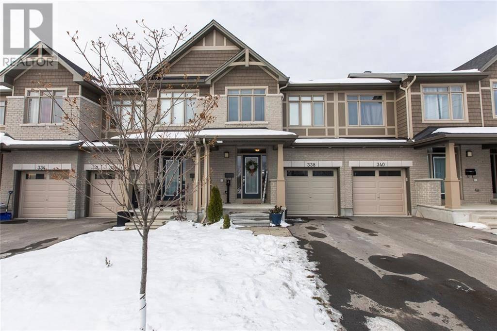 Townhouse for sale at 338 Broadridge Cres Ottawa Ontario - MLS: 1175938