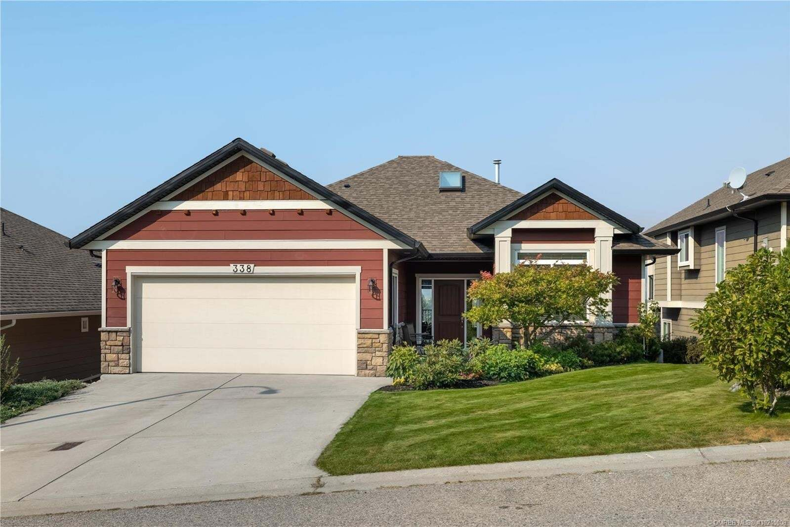 House for sale at 338 Downton Ct Kelowna British Columbia - MLS: 10215008
