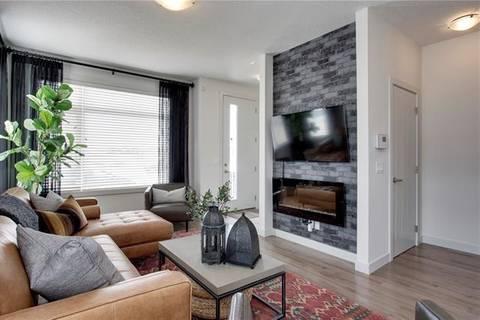 Townhouse for sale at 338 Redstone Blvd Northeast Calgary Alberta - MLS: C4281545