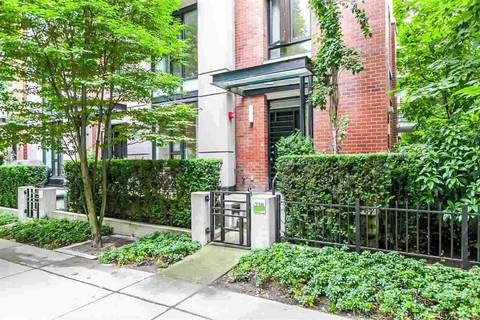 Townhouse for sale at 338 Smithe St Vancouver British Columbia - MLS: R2455162