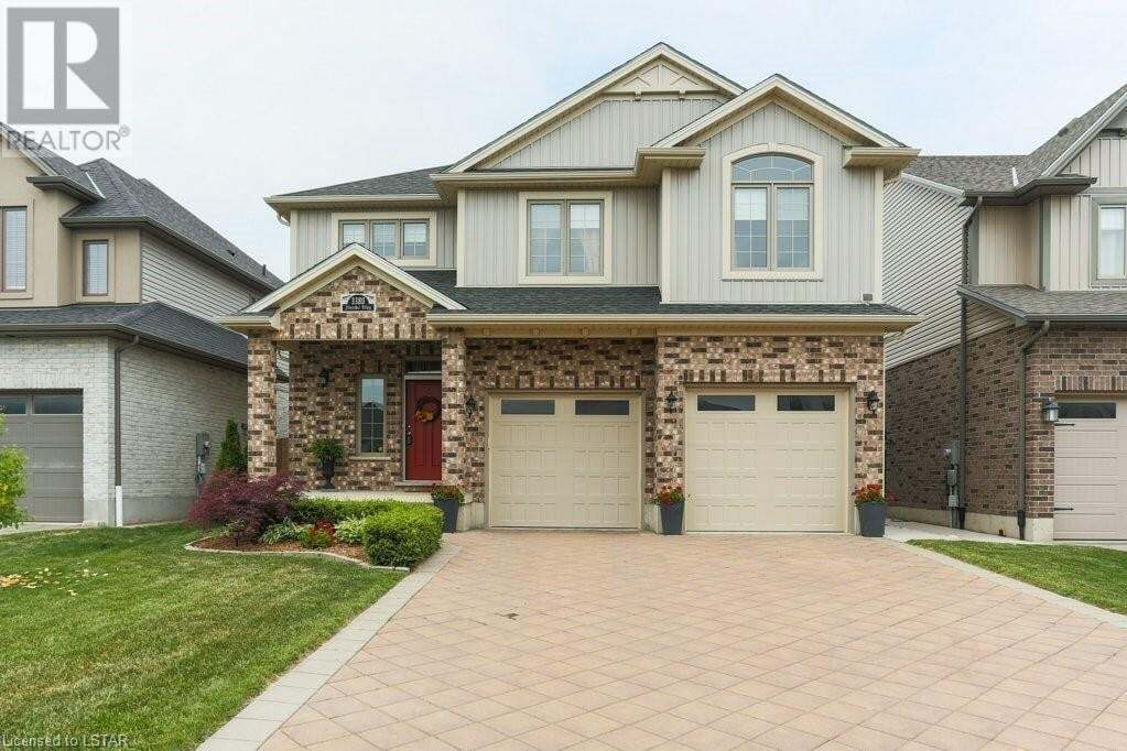 House for sale at 3380 Jinnies Wy London Ontario - MLS: 268663