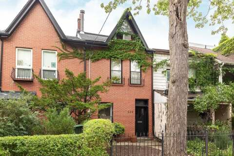 Townhouse for sale at 339 Lippincott St Toronto Ontario - MLS: C4912391