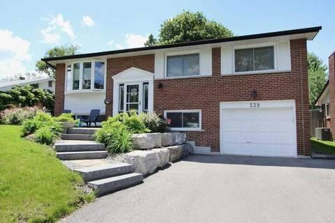 House for sale at 339 Orange Cres Oshawa Ontario - MLS: E4483337