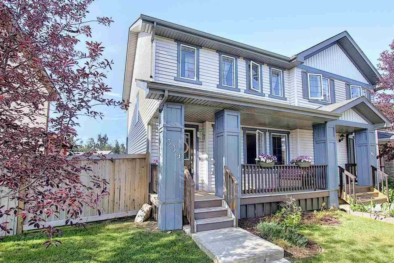 Townhouse for sale at 339 Secord Bv NW Edmonton Alberta - MLS: E4207777