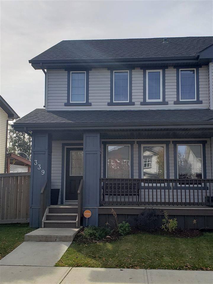 Townhouse for sale at 339 Secord Blvd Nw Edmonton Alberta - MLS: E4173013