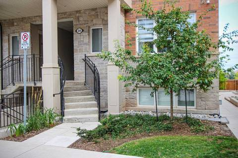 Condo for sale at 2420 Baronwood Dr Unit 34-02 Oakville Ontario - MLS: W4628983