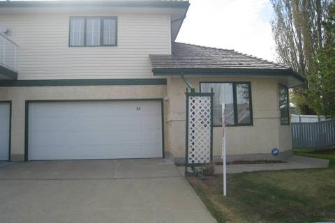 Townhouse for sale at 11 Hunchak Wy Nw Unit 34 St. Albert Alberta - MLS: E4156788