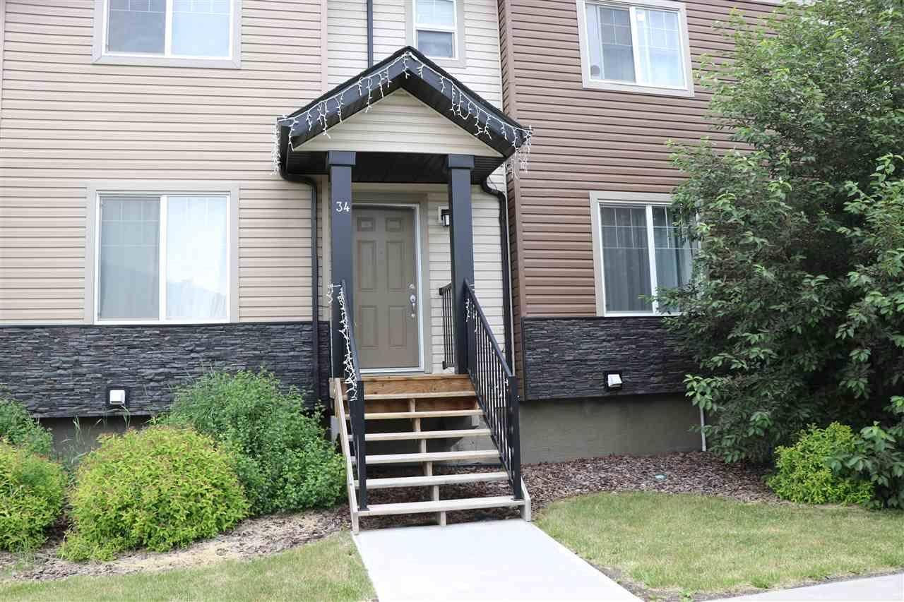 Townhouse for sale at 12004 22 Ave Sw Unit 34 Edmonton Alberta - MLS: E4151456