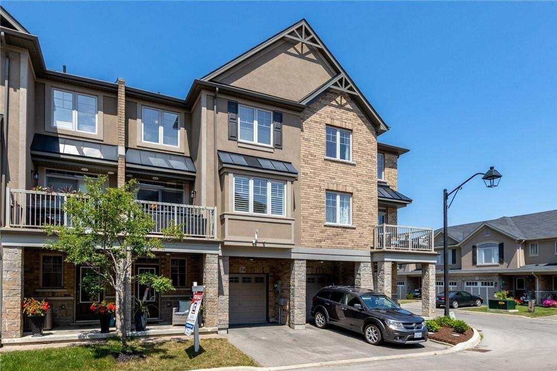 Townhouse for sale at 201 Westbank Tr Unit 34 Stoney Creek Ontario - MLS: H4082042