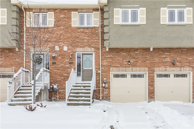 For Sale: 207 Harvie Road, Barrie, ON | 3 Bed, 3 Bath Townhouse for $369,900. See 20 photos!