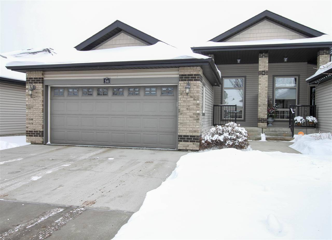 Townhouse for sale at 276 Cranford Dr Unit 34 Sherwood Park Alberta - MLS: E4184684