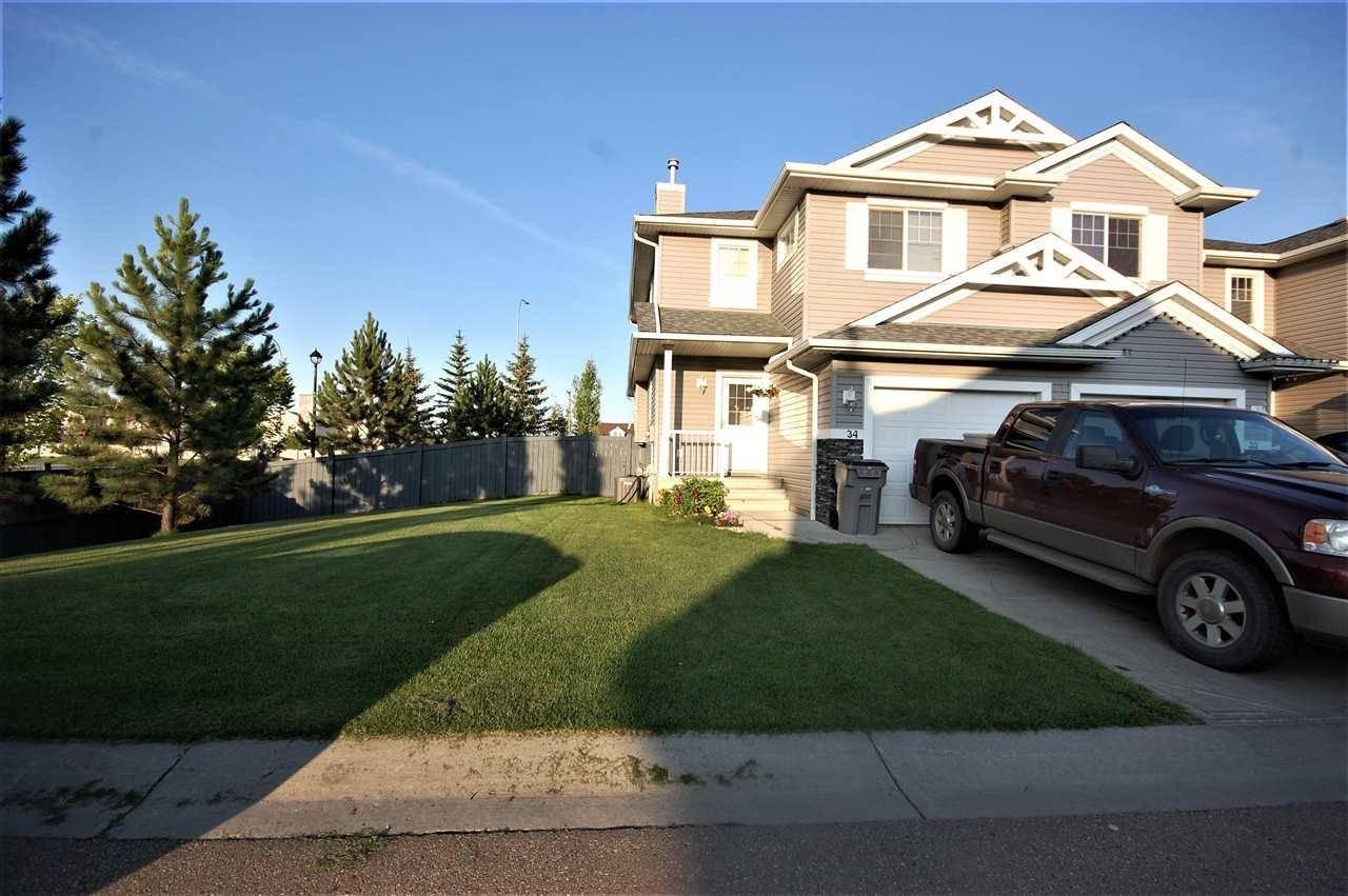 Townhouse for sale at 5101 Soleil Blvd Unit 34 Beaumont Alberta - MLS: E4167743