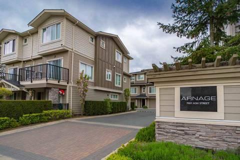 Townhouse for sale at 7051 Ash St Unit 34 Richmond British Columbia - MLS: R2367041