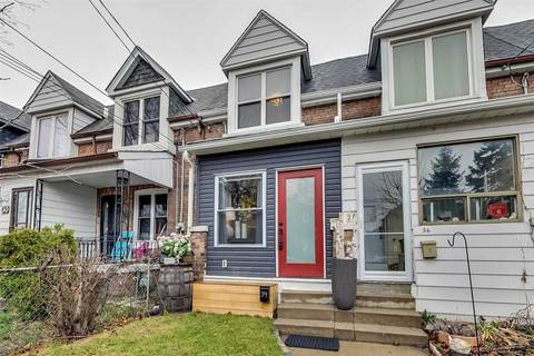 Townhouse for sale at 34 Balfour Ave Toronto Ontario - MLS: E4737160
