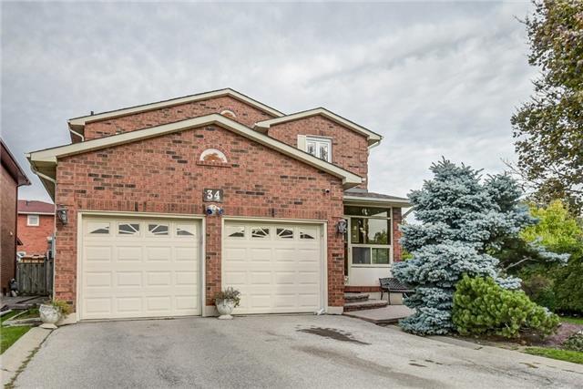 House for sale at 34 Bellona Street Vaughan Ontario - MLS: N4282598