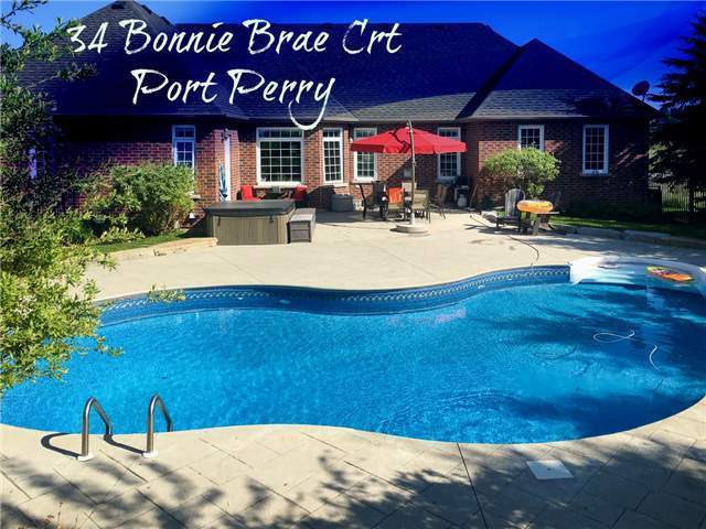 Sold: 34 Bonnie Brae Court, Scugog, ON