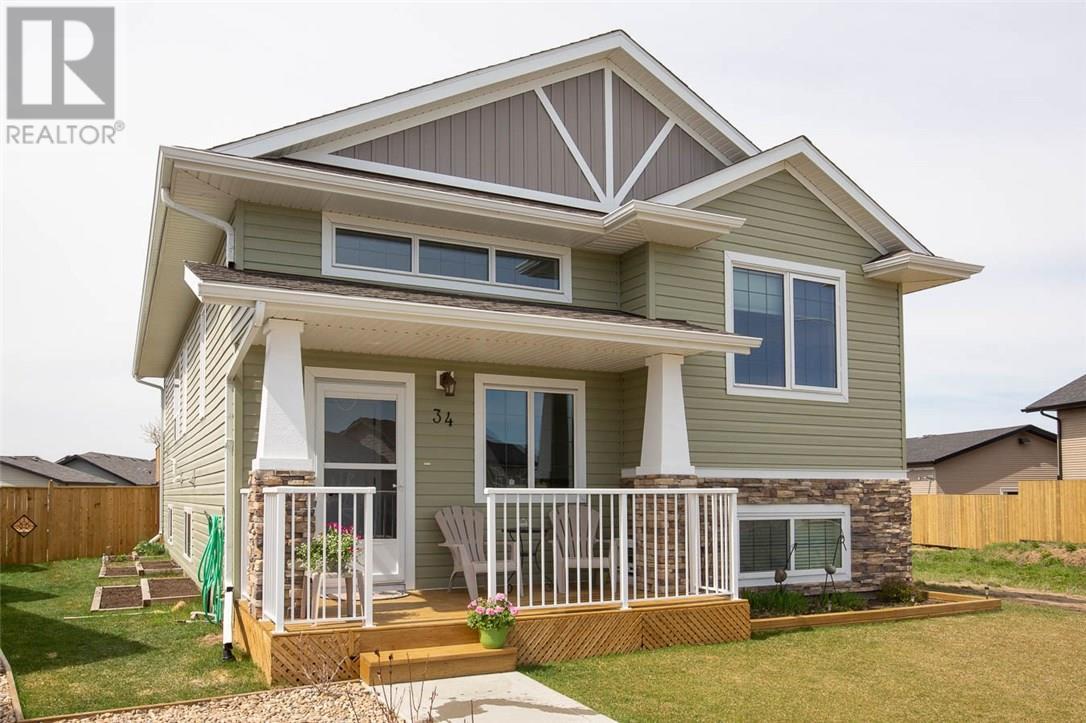 For Sale: 34 Cascade Street, Blackfalds, AB | 4 Bed, 3 Bath House for $324,900. See 21 photos!