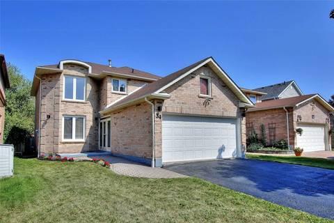 House for sale at 34 Cummings Ct Ajax Ontario - MLS: E4591361