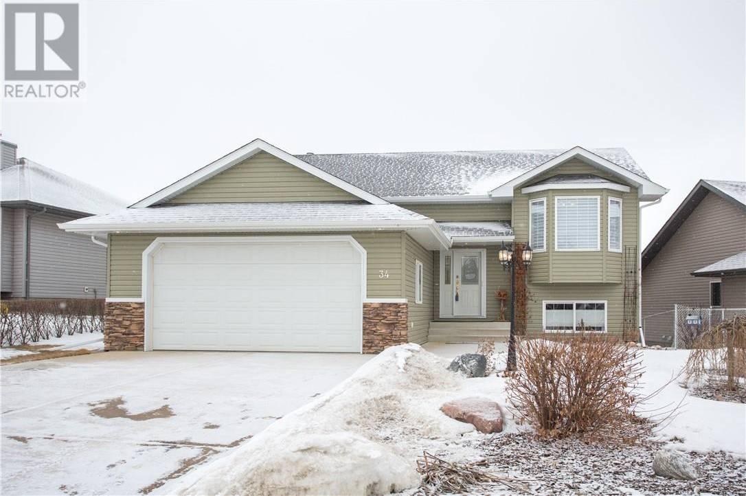 House for sale at 34 Elizabeth Park Blvd Lacombe Alberta - MLS: ca0191510