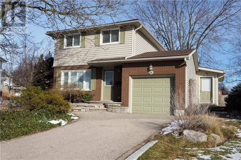 House for sale at 34 Forest Glen Ct Kitchener Ontario - MLS: 30786336
