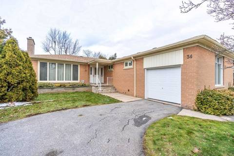House for rent at 34 Foxwarren Dr Toronto Ontario - MLS: C4653019