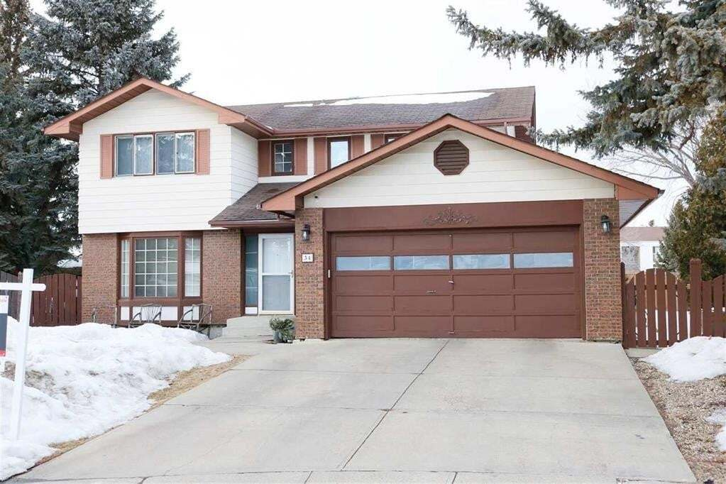 House for sale at 34 Gariepy Cr NW Edmonton Alberta - MLS: E4195997