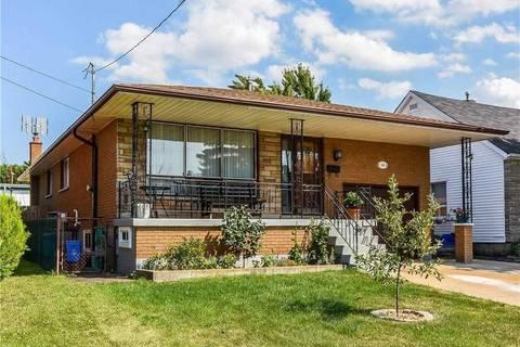 House for sale at 34 Glennie Ave Hamilton Ontario - MLS: X4605496