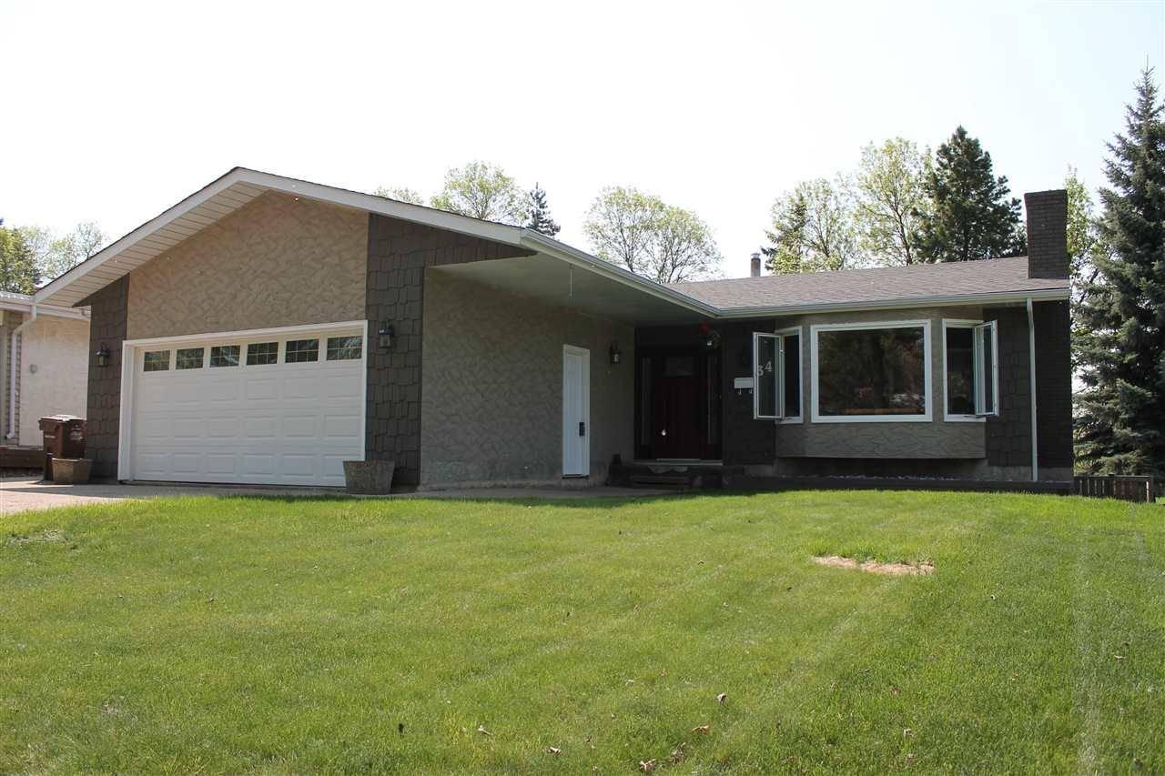 House for sale at 34 Glenwood Cres St. Albert Alberta - MLS: E4159058