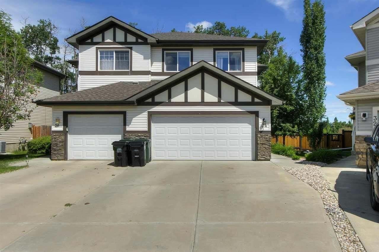 Townhouse for sale at 34 Hamilton Co Spruce Grove Alberta - MLS: E4203556