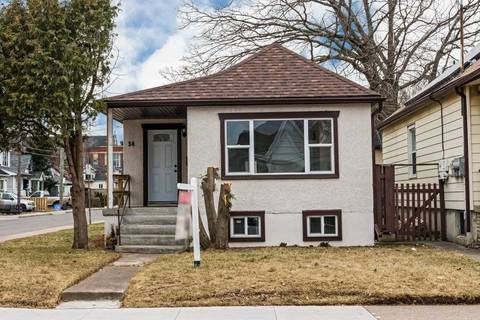 House for sale at 34 Hope Ave Hamilton Ontario - MLS: X4396745