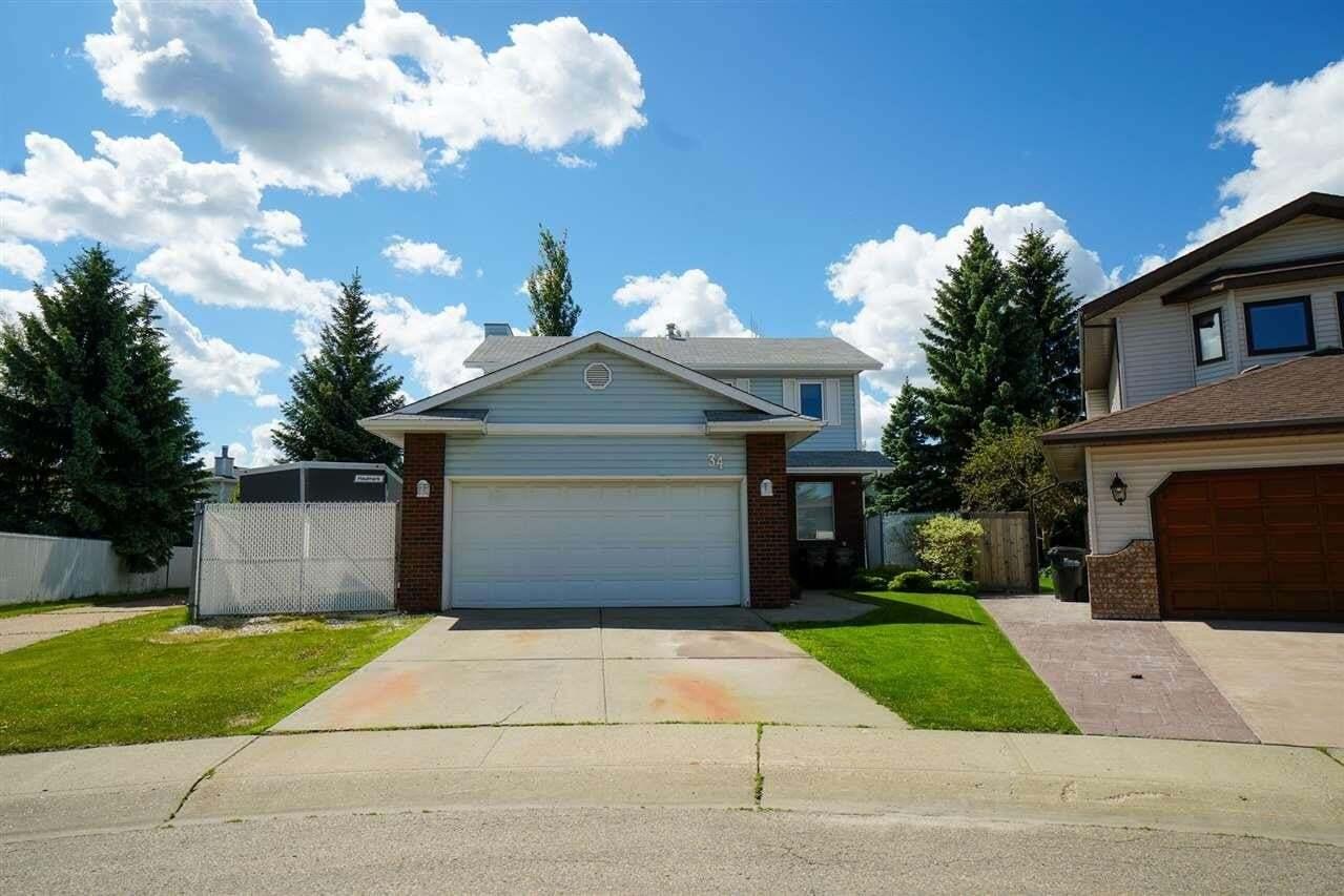 House for sale at 34 Larkspur Pl Sherwood Park Alberta - MLS: E4202224
