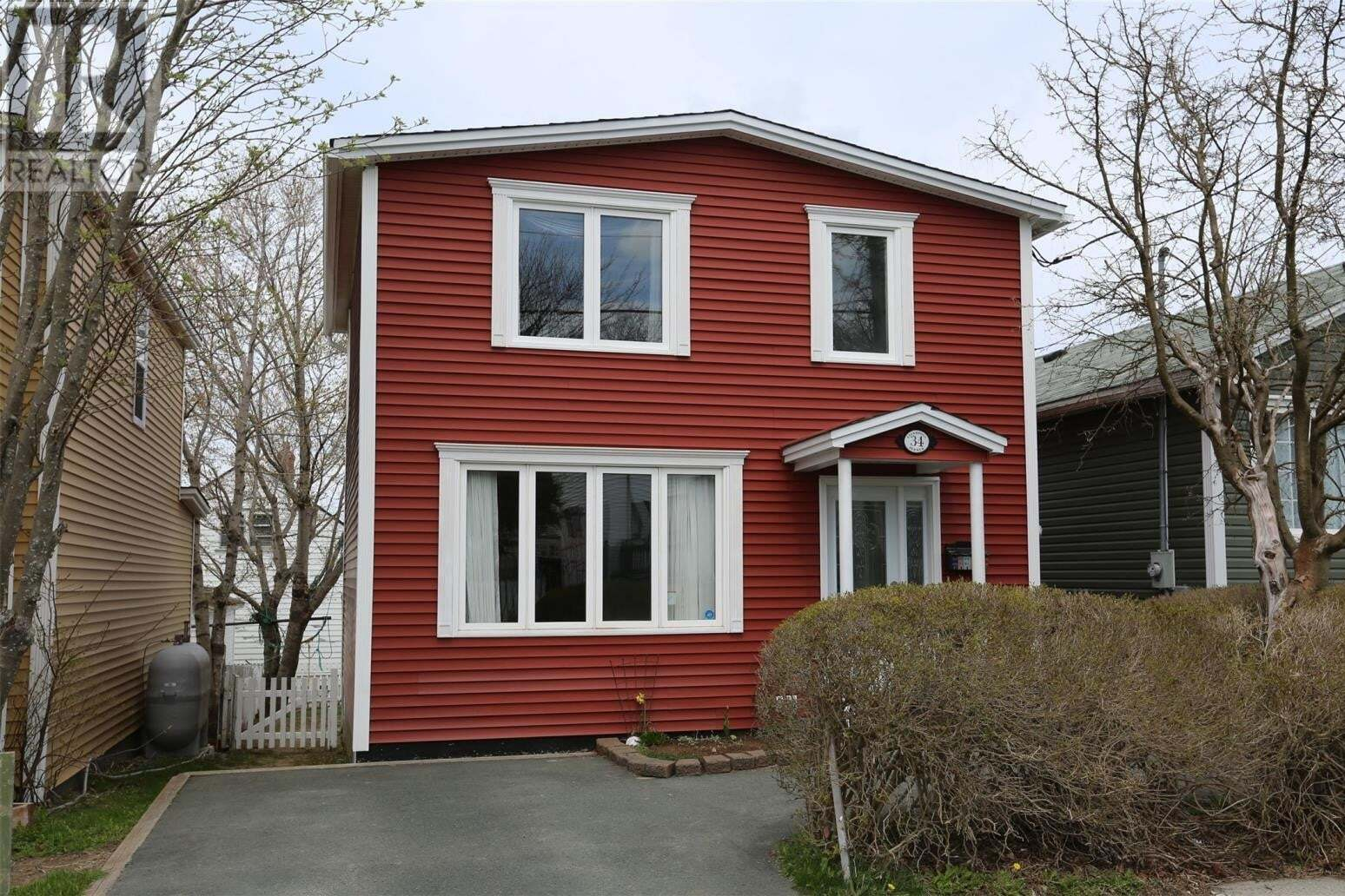 House for sale at 34 Liverpool Ave St. John's Newfoundland - MLS: 1214179