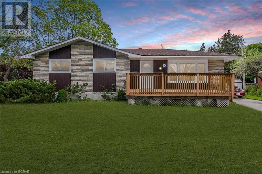 House for sale at 34 Park Rd Collingwood Ontario - MLS: 257625