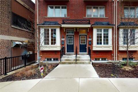 Townhouse for sale at 34 Raffeix Ln Toronto Ontario - MLS: C4769722