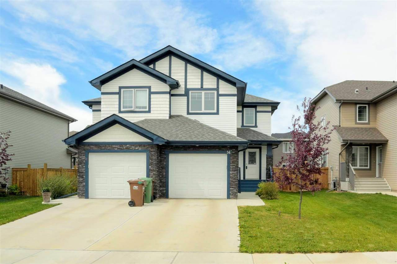 Townhouse for sale at 34 Red Tail Wy St. Albert Alberta - MLS: E4165738