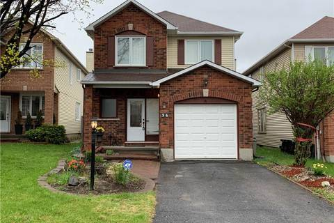 House for sale at 34 Rowe Dr Kanata Ontario - MLS: 1151641