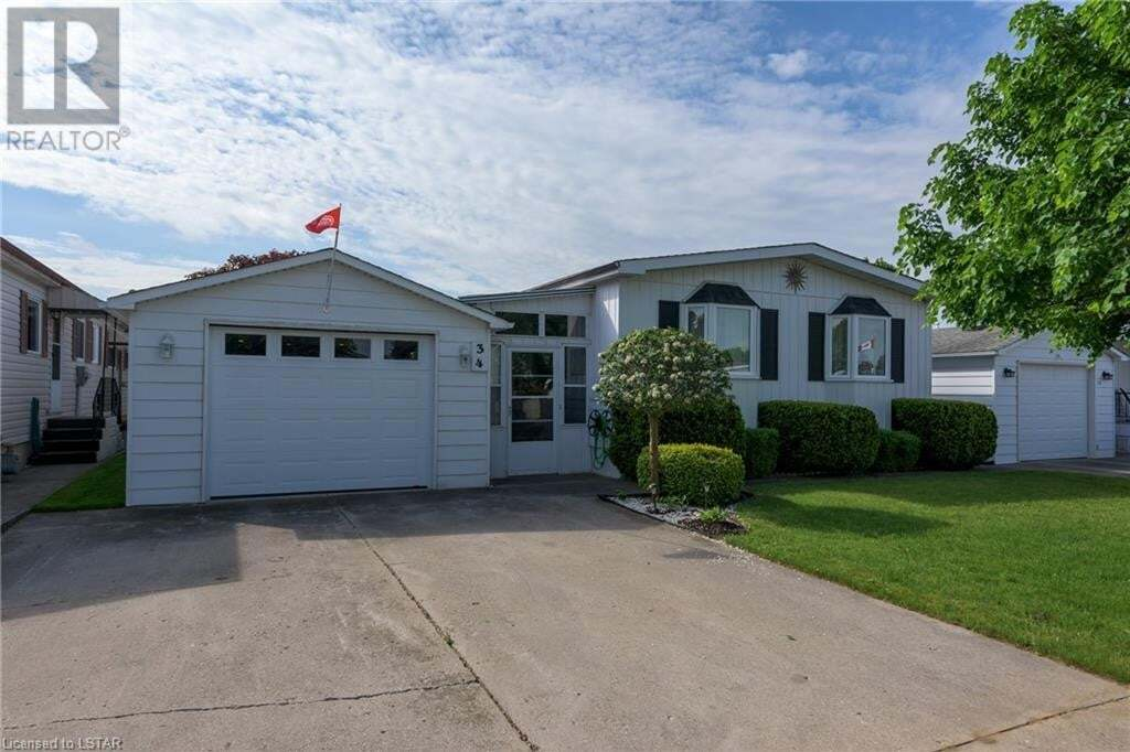 Residential property for sale at 34 Stewart St Strathroy Ontario - MLS: 261785