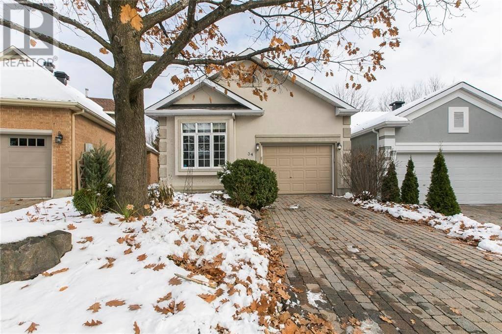 House for sale at 34 Stonecroft Te Ottawa Ontario - MLS: 1175723