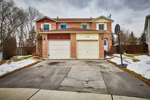 Townhouse for sale at 34 Tams Dr Ajax Ontario - MLS: E4736535