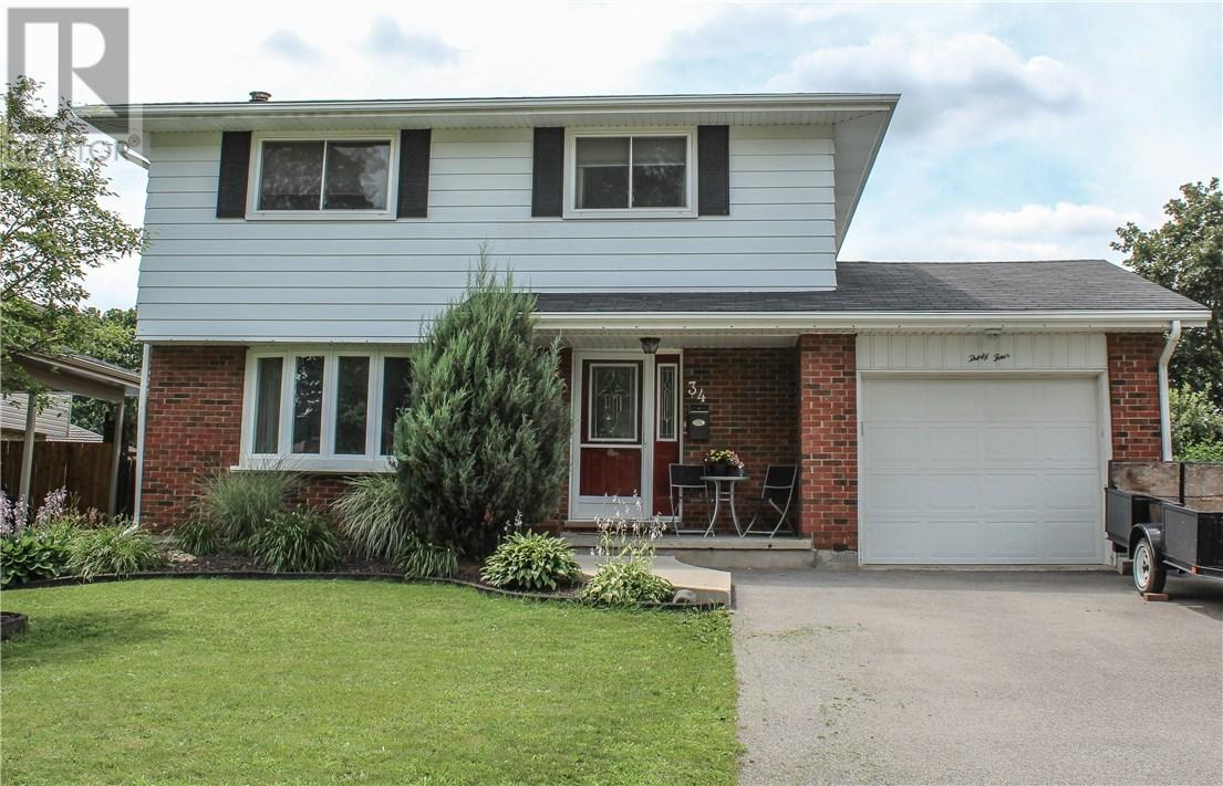 For Sale: 34 Tanglewood Terrace, Brantford, ON | 4 Bed, 2 Bath House for $439,900. See 38 photos!