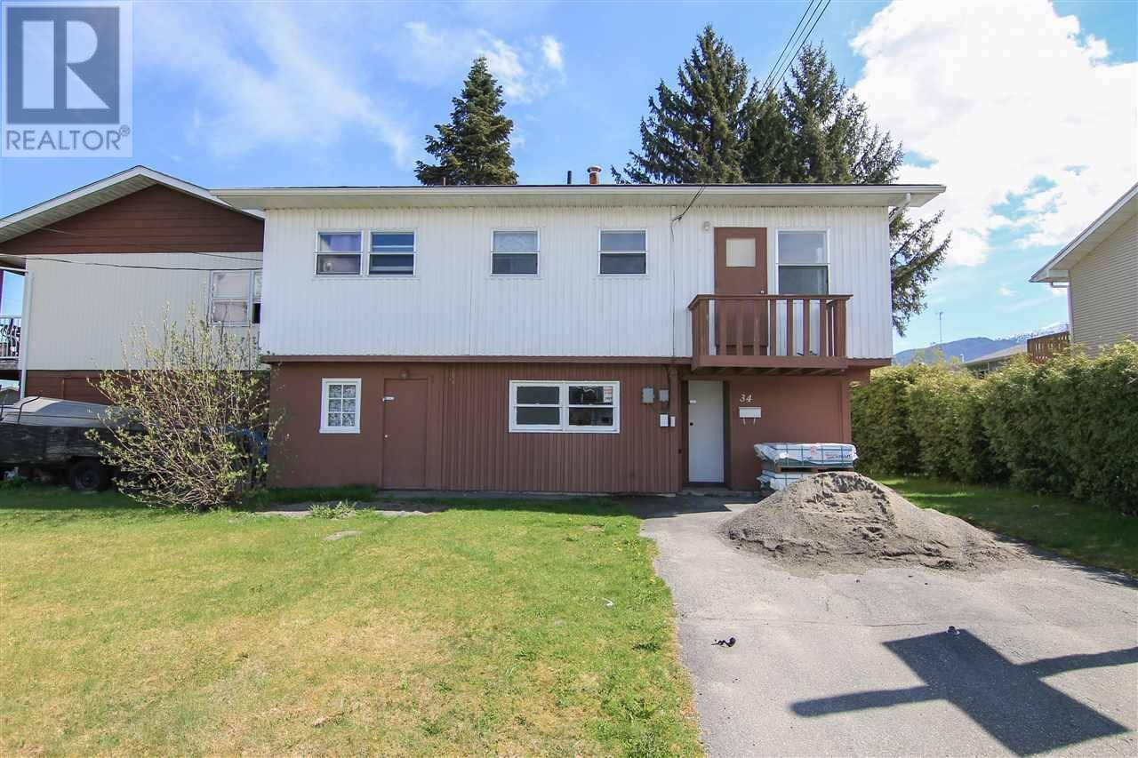 Townhouse for sale at 34 Wren St Kitimat British Columbia - MLS: R2442606