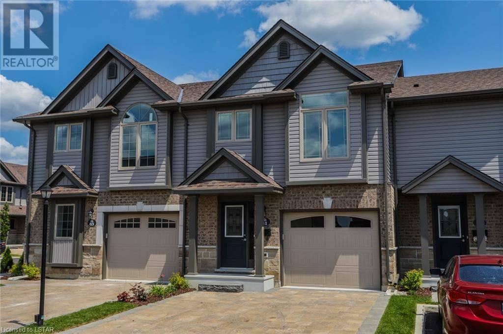 Townhouse for sale at 81 Castle Rock Pl Unit 3400 London Ontario - MLS: 213240