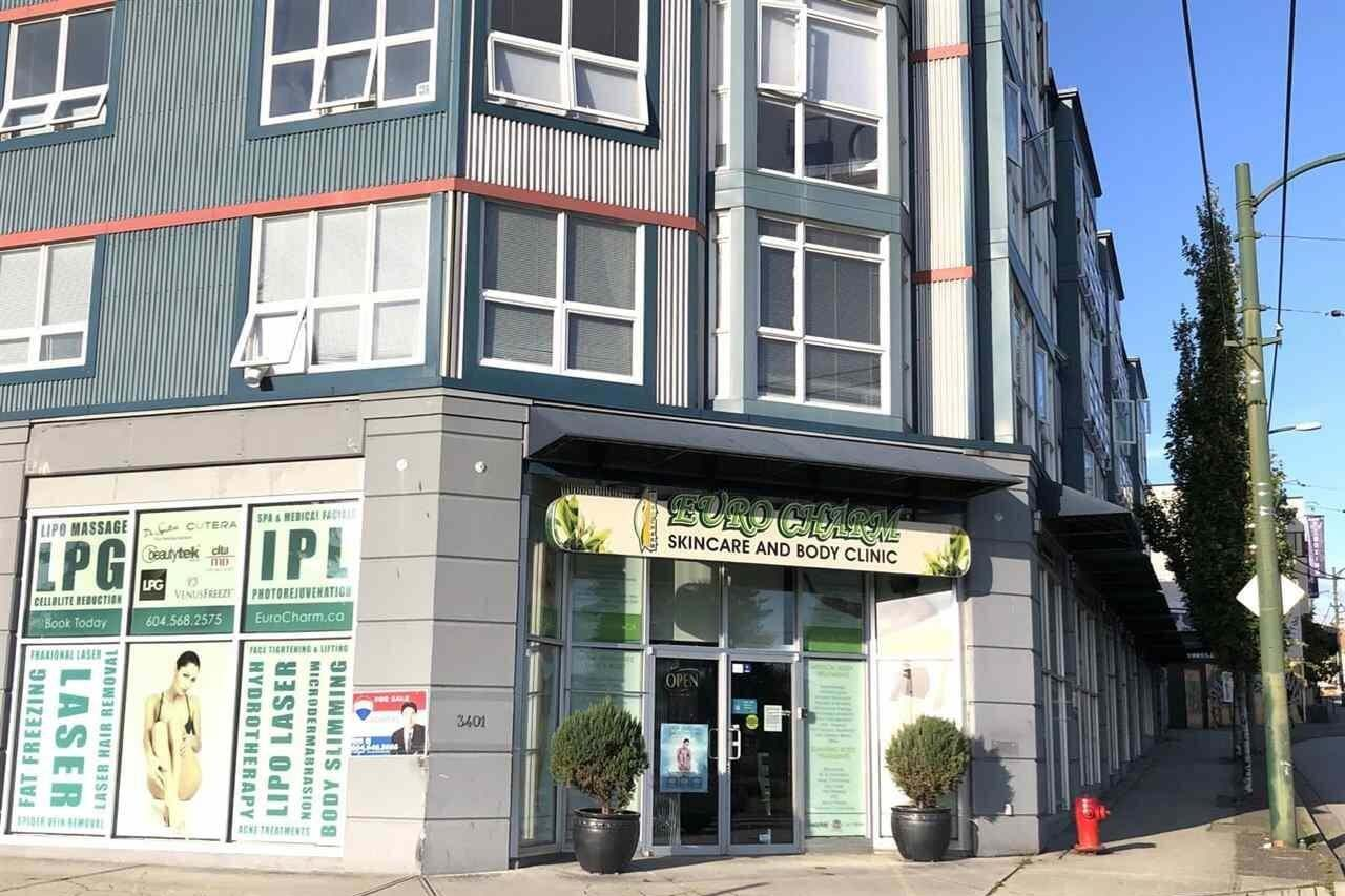 Commercial property for sale at 3401 Hastings St East Vancouver British Columbia - MLS: C8032932