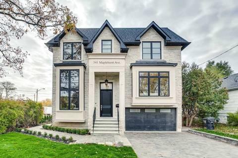 House for sale at 341 Maplehurst Ave Toronto Ontario - MLS: C4619356
