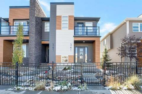 Townhouse for sale at 341 Midtown  Gt SW Airdrie Alberta - MLS: A1042691