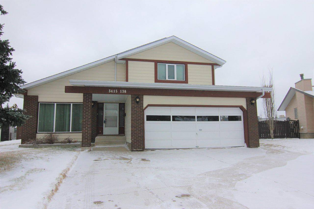 House for sale at 3415 138 Ave Nw Edmonton Alberta - MLS: E4183506