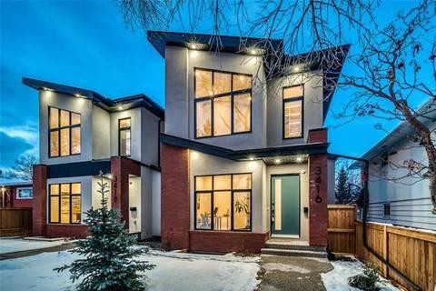 House for sale at 3416 Exshaw Rd Northwest Calgary Alberta - MLS: C4275181