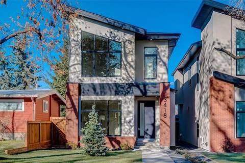 House for sale at 3418 Exshaw Rd Northwest Calgary Alberta - MLS: C4273798