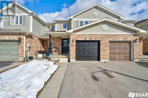 Townhouse for sale at 342 Esther Dr Barrie Ontario - MLS: 30719485